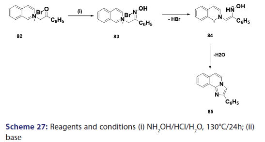 Review on Chemistry of Natural and Synthetic Indolizines